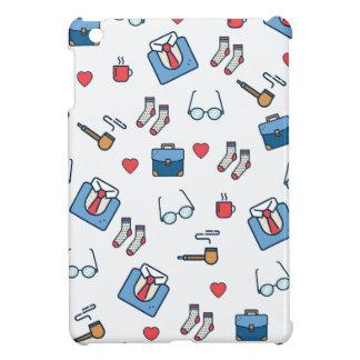 Father pipe pattern iPad mini cover