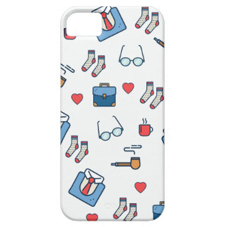 Father pipe pattern iPhone SE/5/5s case