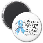 Father Prostate Cancer Ribbon 2 Inch Round Magnet