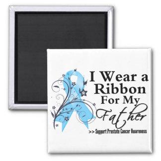 Father Prostate Cancer Ribbon Fridge Magnet
