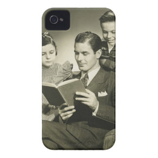 Father Reading to Son Case-Mate iPhone 4 Case