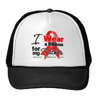 Father - Red Ribbon Awareness Hats
