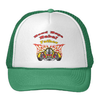 Father Road Rage Racing Gifts Trucker Hats