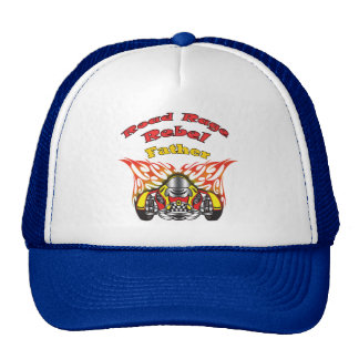 Father Road Rage Racing Gifts Hat