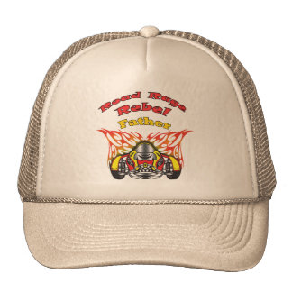Father Road Rage Racing Gifts Mesh Hat