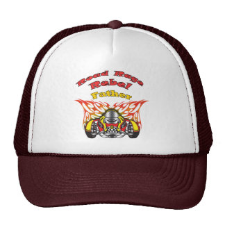 Father Road Rage Racing Gifts Mesh Hats