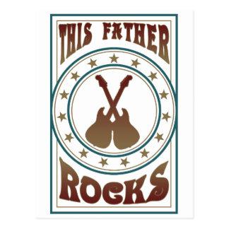 Father Rock Postcard