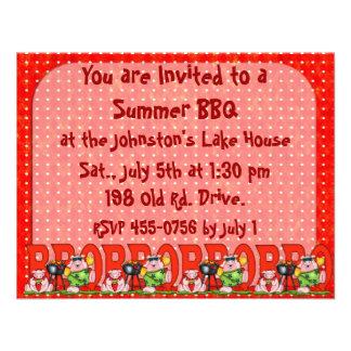Father s Day BarBQ invitation Family reunion