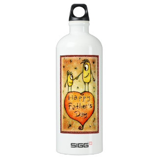 Father´s day Illustration Liberty Bottle