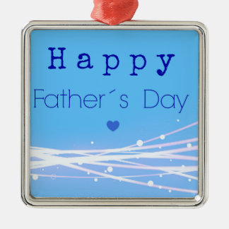 Father´s day metal ornament