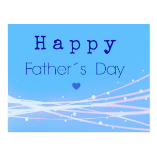 Father´s day postcard