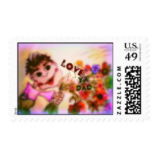 Father`s Day Stamp ``Love Ya Dad´´