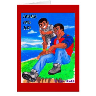 FATHER & SON CARD