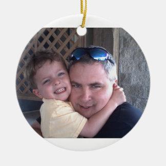 father son ornament