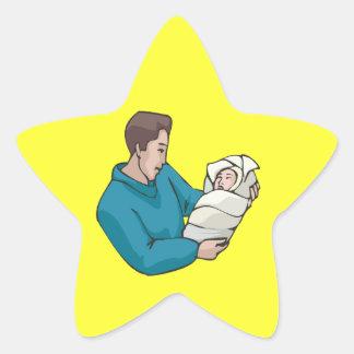 Father Star Sticker