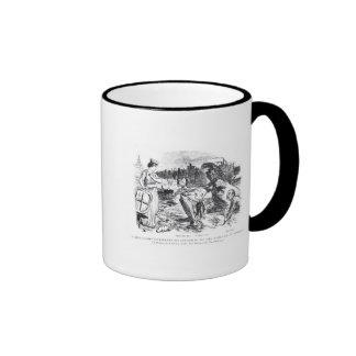 Father Thames Introduces his Offspring Ringer Mug