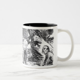 Father Thames Introduces his Offspring Two-Tone Coffee Mug