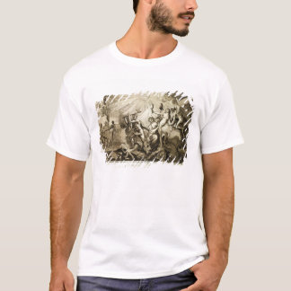 Father Time discovers Truth trampling T-Shirt