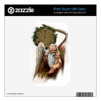 father time iPod touch 4G skins