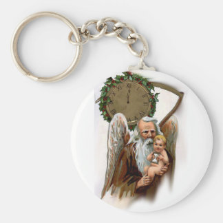 father time key chain