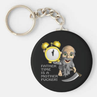 Father Time Key Chains