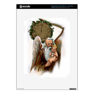father time decals for iPad 3