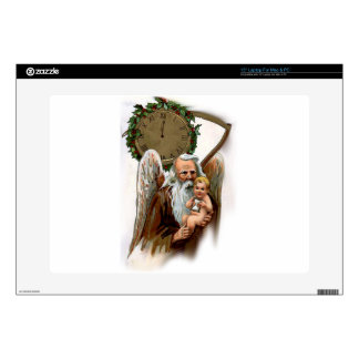 father time laptop decals