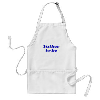 Father to be adult apron