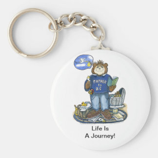 Father-to-Be Key Chain