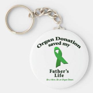 Father Transplant Keychain