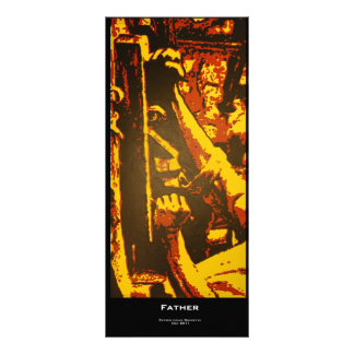 """""""Father"""" Value Bookmark Rack Card"""