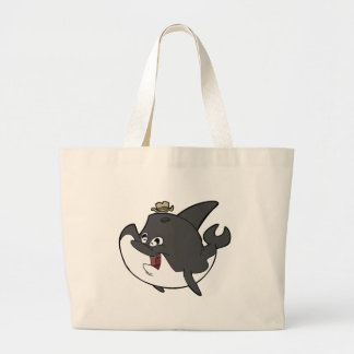 Father Whale Tote Bags