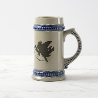 Father Whale Beer Stein