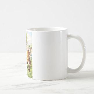 Father WIlliam Balances an Eel in Wonderland Classic White Coffee Mug