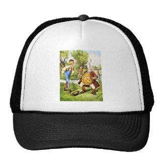 Father WIlliam Balances an Eel in Wonderland Trucker Hat
