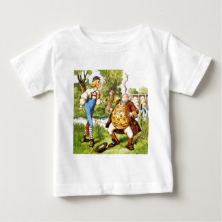 Father William Balances An Eel On His Nose Baby T-Shirt