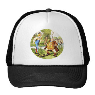 Father William Balances an Eel on His Nose Trucker Hat
