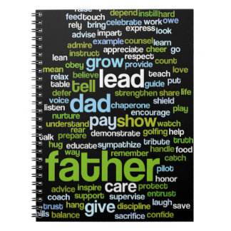 Father Word Cloud Notebook