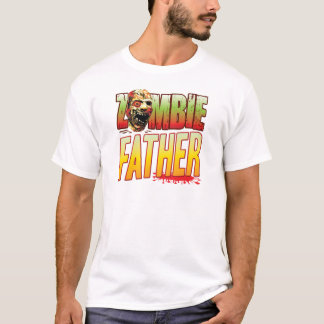 Father Zombie Head T-Shirt