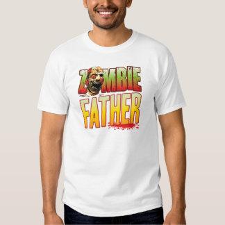 Father Zombie Head Tee Shirts