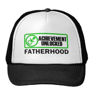 Fatherhood, Achievement Unlocked funny gamer dad Trucker Hat