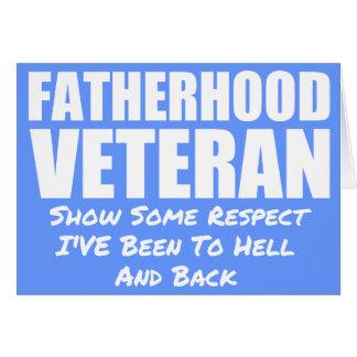 FATHERHOOD VETERAN CARD