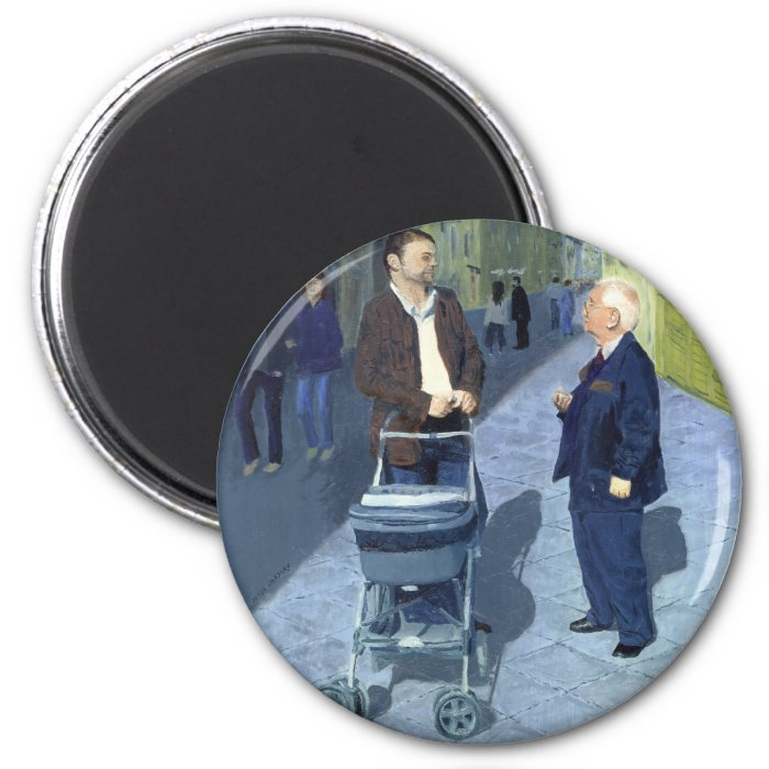 Fatherly Advice_25M 2 Inch Round Magnet