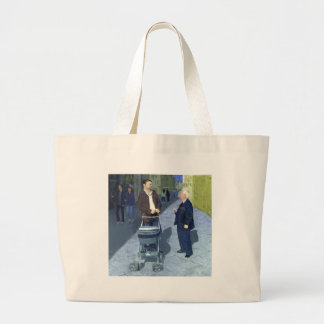 Fatherly Advice_25M Large Tote Bag