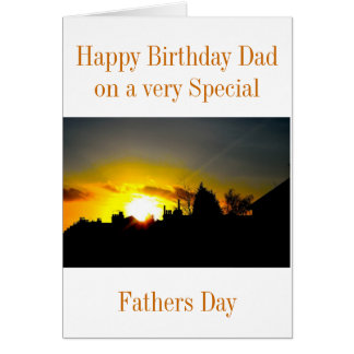 FATHERS BIRTHDAY/FATHERS DAY GREETING CARD