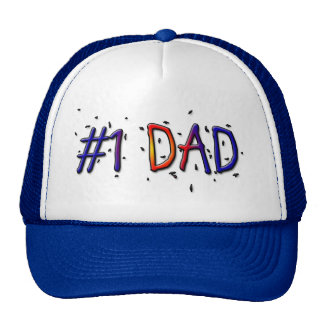 Father's Day #1 Dad Hat Trucker Hats