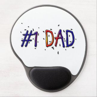 Father's Day #1 Dad Mousepad Gel Mousepad
