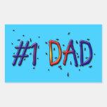 Father's Day #1 Dad Sticker