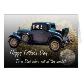 FATHER'S DAY #1 GREETING CARD