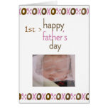 Father's Day 1st Photo Card